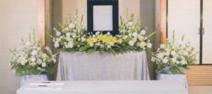 自宅葬 花祭壇