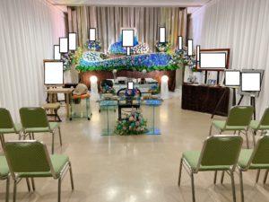 北千住の花祭壇