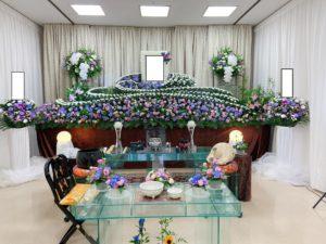 足立区の花祭壇